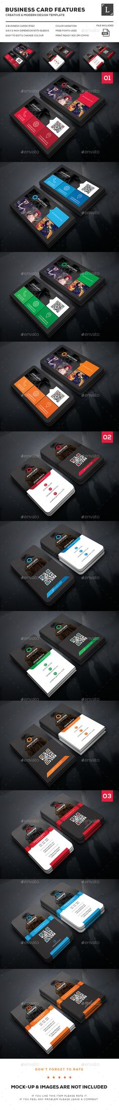 Photography Business Card Bundle Templates PSD. Download here: http://graphicriver.net/item/photography-business-card-bundle/15986738?ref=ksioks