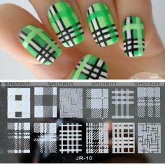 20 Styles Nail Stamping Plates Art Manicure Template Stamp Tools Plate As The Picture Shows Stainless Steel China