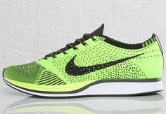 Nike Flyknit Racer | Black & Volt  #DOPE #HTM #genioustechnology
