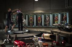 Marvel Studios Begins Production on Iron Man 3   Tony's building a new armor!!