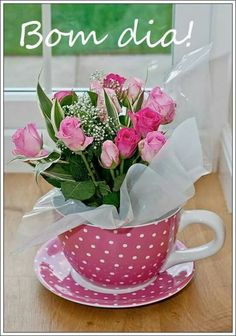 Super Ideas for flowers bouquet gift floral arrangements tea cups Tea Art, Day Wishes, Birthday Diy, Birthday Nails, Amazing Flowers, Birthday Greetings, Happy Day, Valentine Gifts, Birthday Invitations