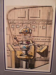Tomorrowland concept art, Disneyland Gallery, Disneyland, Los Angeles 1 by gruntzooki, via Flickr