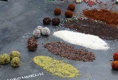Τρουφάκια-featured_image Greek Sweets, Death By Chocolate, Xmas Food, Food Categories, Truffles, Cake Pops, Food Styling, Party Time, Candy