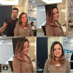 Flavia Calina's hair