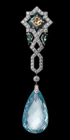 """Cartier """"L'Odyssée de Cartier Parcours d'un Style"""" Collection - Oriental Influences Earring"""