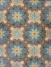 Mosaic backsplash tile.  Crazy love this.  340-66 (m)