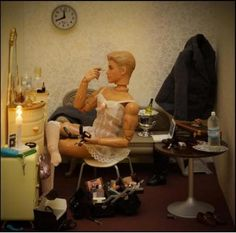 """Ken's secret life"" Transvestite Barbie"
