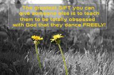Do A Dance For God!  #prayer #worldprayr #FaithFactr World Prayr, Inc.