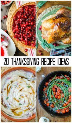 Thanksgiving Menu Re