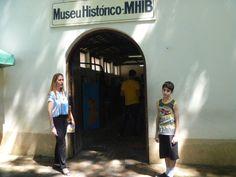 Entrada de um dos museus aberto ao publico.