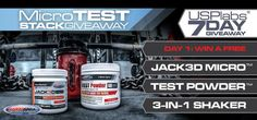 Want FREE USPlabs Jack3d Micro, USPlabs TEST Powder and a USPlabs 3-in-1 Shaker??? Sign up at Bodybuilding.com for a chance to win at http://www.bodybuilding.com/fun/2012-fb-nov-usplabs.htm?mcid=faceusplabsnov