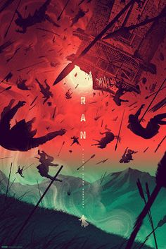 Kevin Tong RAN Movie Poster Release http://ift.tt/2dQi9Ml... #Arsetculture #Inside_the_Rock_Poster_Frame #Gig_Posters