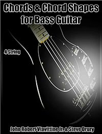 Bass Guitar chords are explained. The chords and sequences of a song are shown to suggest the single-note bass line. Instruction books to help learn c Bass Guitar Chords, Guitar Chord Chart, Learn C, Guitar Online, 100 Songs, Backing Tracks, Soloing, Music Theory, Ebook Pdf