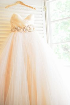Tulle wedding dress : if I could get married again!