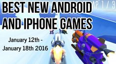 Best new games for iPhone and Android 2016 (Jan – Jan - Best Apps Tube Tablet Reviews, Real Time Strategy, Best Apps, New Iphone, News Games, Tech News, Android Apps, How To Introduce Yourself, Good News