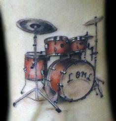 Drum Set Tattoo Pictures Images Designs Ideas Tattoos