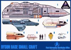Starfleet Shuttles | Click on a tab to view technical data on specific craft.