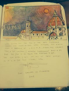 The first duomo drawing