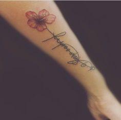 Flor brazo