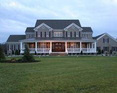 love the huge porch and double doors!