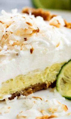 Coconut Cream Key Lime Pie Recipe