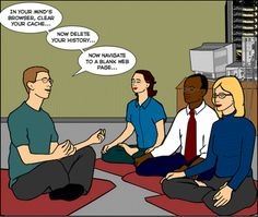 Funny jokes with an American slant at least in the opinion of an Aussie LOL ; Hope at least one made you Yanks laugh. Yoga Humor, Yoga Jokes, Humour Geek, Tech Humor, Adult Humour, Geeks, Desenvolvedor Web, Office Yoga, Pokerface