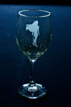 Disney Princess Pocahontas Etched Wine Glass by lindseyhuckabee, $12.00