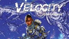 """Rhoda is self-publishing """"Velocity"""", a collaborative graphic novel anthology created by South African and Australian comic book artists."""