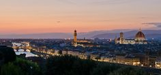 Florence At Sunset by Pablo López
