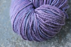 Uttanasana- San Bamboo - Hand Dyed Vegan Fingering Weight Yarn - 328 yds. $26.00, via Etsy.
