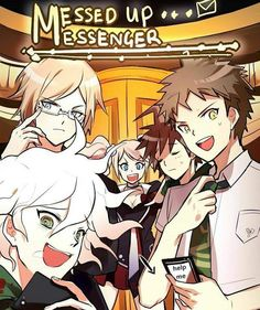 Image result for mystic messenger danganronpa