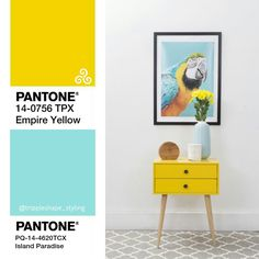 Island Paradise Pantone 2017 trendcolor. Great for a holiday vibe in your interior. Dream away.