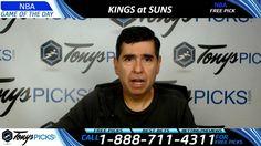 Sacramento Kings vs. Phoenix Suns Free NBA Basketball Picks and Predicti...