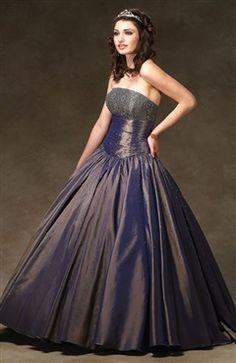 Ball Gown Strapless Floor-length Sleeveless Taffeta Sweet 16 #Dress Style Code: 05484 $189