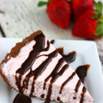 Strawberry No Bake Cheesecake - Raining Hot Coupons
