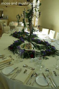 Moss and Mushroom - bespoke wedding floristry and heirloom bouquets by Liza Keane Wedding florist, Ballina Killaloe, Co. Fresh Flowers, Wedding Flowers, Stuffed Mushrooms, Table Settings, Bouquet, Events, Weddings, Table Decorations, Home Decor