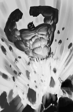 Hulk sketch by edsfox.deviantart.com on @DeviantArt