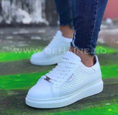 Adidasi barbati casual albi ZR B1299 A5-1