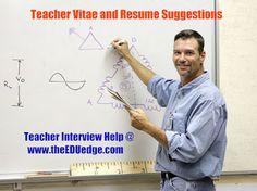 Teacher Vitae and Resume suggestions from administrators that do the hiring.  Learn the best ways to present yourself in a resume for a teaching interview.  CLICK THIS PIN TO READ OUR BLOG POST!