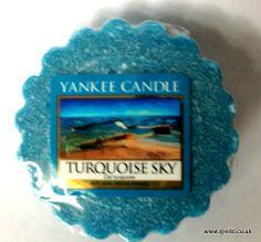 Yankee Candle Turquoise Sky Wax Tart