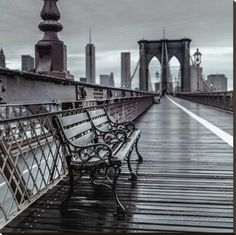 Bridge Beauty Stretched Canvas Print by Assaf Frank at AllPosters.com