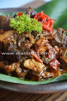 Diah Didi's Kitchen: Inspirasi Menu Buka Puasa / Sahur Hari ke 23..Babat Gongso..Versi Praktis ( Semarang )