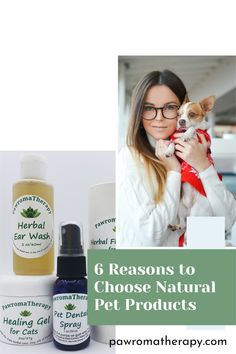 Why choose natural products over chemical-laden traditional products for pets? Here are 6 great reasons! #chemicalfree #dogproducts #petproducts #naturaldog #holisticdog #pawromatherapy #aromatherapyfordogs Natural Products, Pet Products, Aromatherapy For Dogs, Dog Nutrition, Healthy Pets, Free Dogs, Dog Boarding, Dog Quotes, Dog Accessories