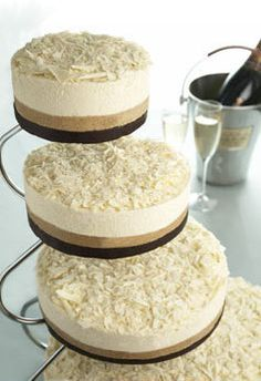 Cheesecake wedding cake?! genius! (Lydia, I really want cheesecake as my wedding cake ! Something small or simple would be fine. Derek agrees)