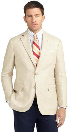 Madison Fit Two-Button Linen Sport Coat
