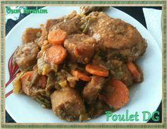 Recette camerounaise : Poulet DG
