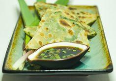 Ramps Recipe - Chinese Style Pancakes