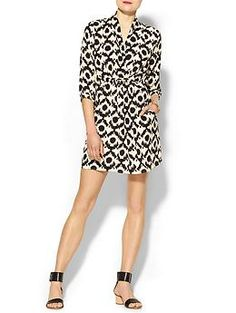 Collective Concepts Printed Wrap Dress | Piperlime www.copycatkate.com CopyKate's DVF Patrice dress