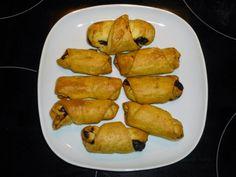 natassa's bake blog: Κρουασανάκια σοκολάτας #mini_choco_croissants