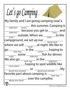 Let's Go Camping! | MagicBlox Kid's